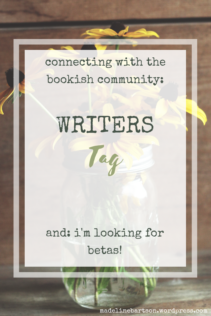 Connecting with the Bookish Community_ Writers Tag-2