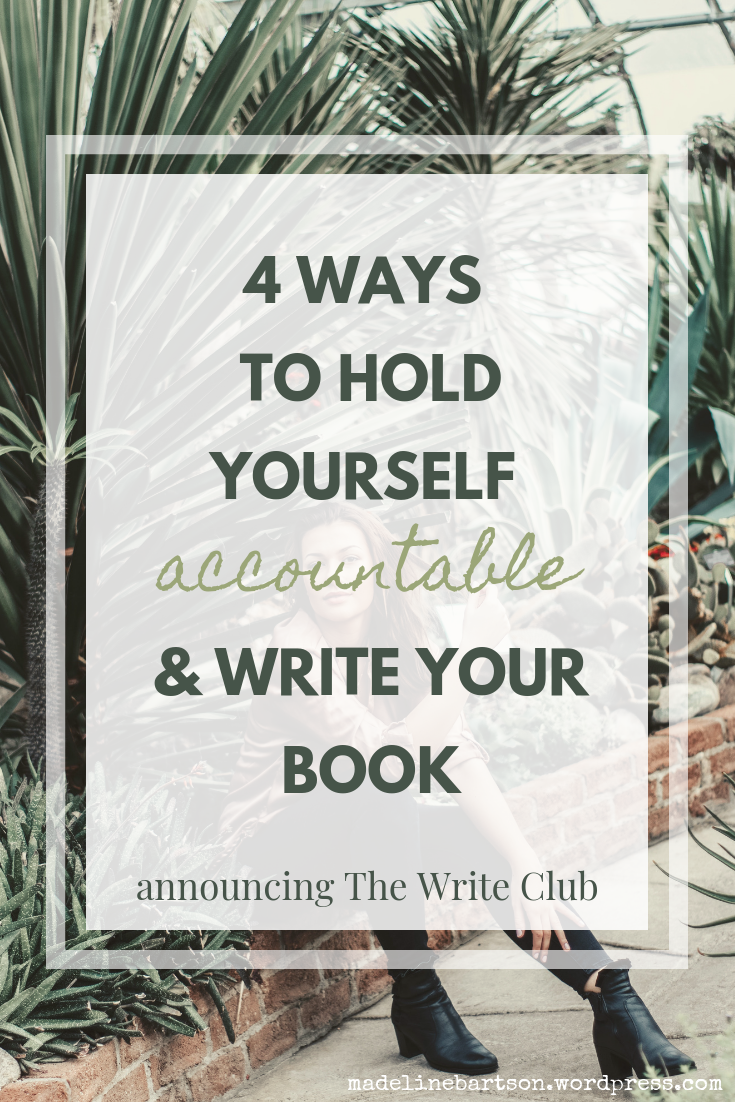 4 More Ways to Hold Yourself Accountable & Write Your Book alt